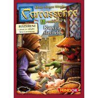 Mindok Carcassonne 2. rozšířenie Kupci a stavitelia