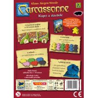 Mindok Carcassonne 2. rozšířenie Kupci a stavitelia 2