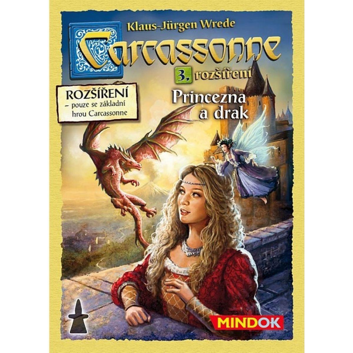 Mindok Carcassonne 3. rozšírenie Princezná a drak