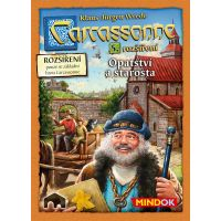 Mindok Carcassonne 5. rozšírenie Opátstvo a Starosta