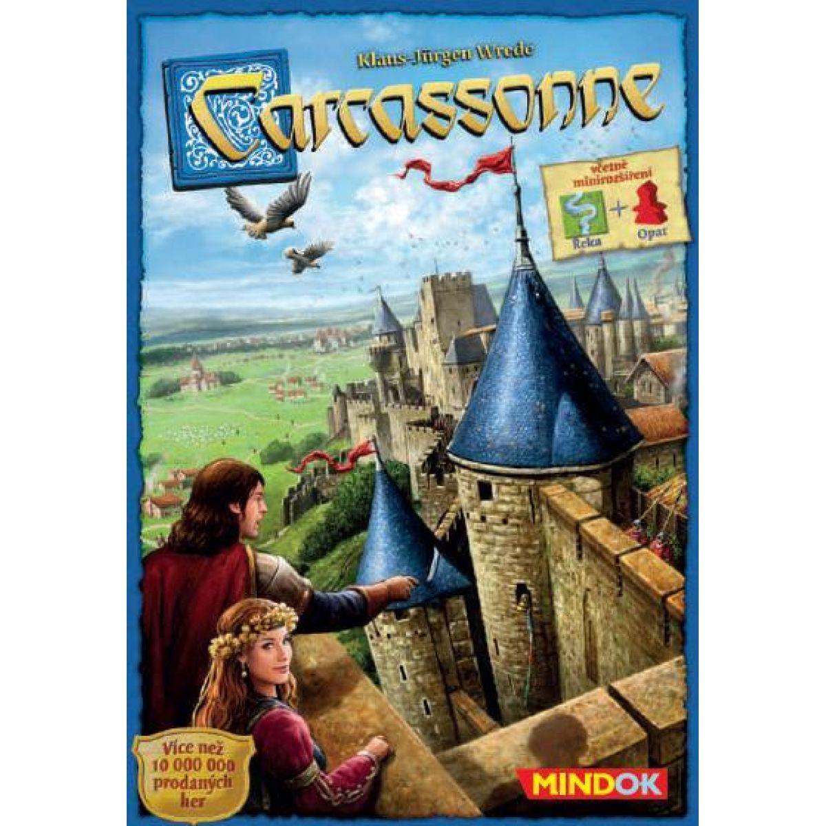 Mindok Carcassonne 2 edice: Základní hra