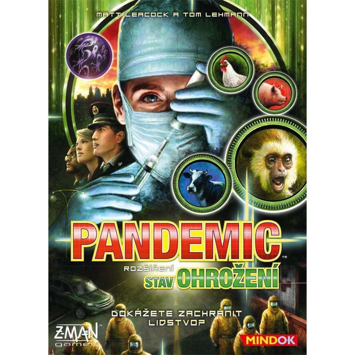 Mindok Pandemic Stav ohrozenia