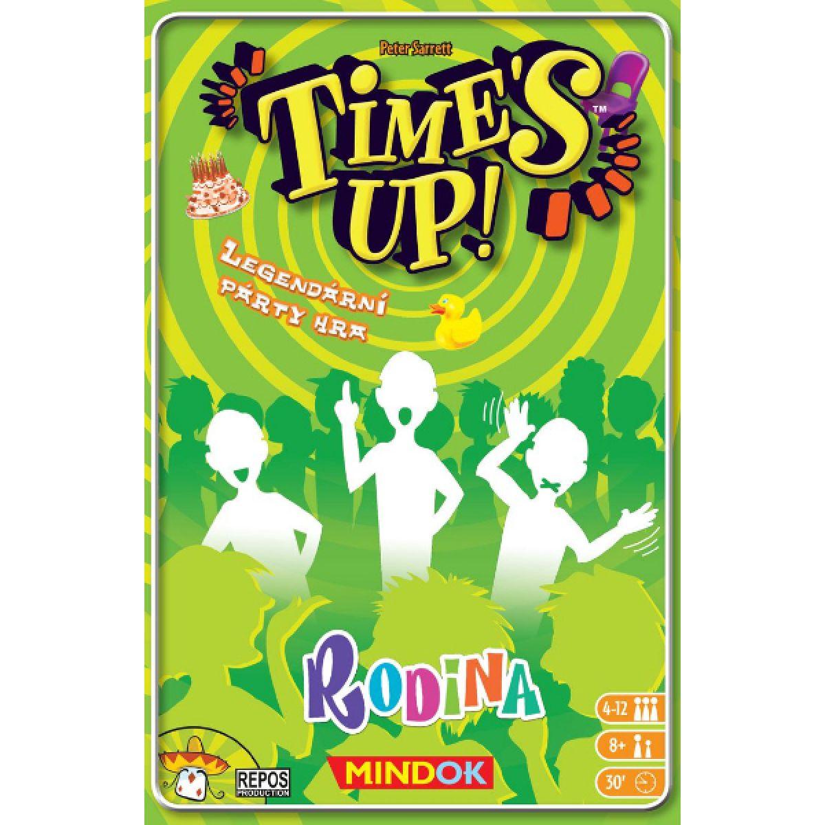 Mindok Time's Up! Rodina