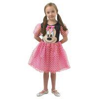 Minnie Mouse ružový kostým veľkosť S