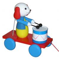 MIVA Pes s bubnom