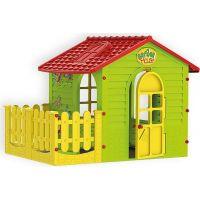 Mochtoys Záhradný domček s plotom - Poškodený obal