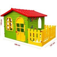 Mochtoys Záhradný domček s plotom 2