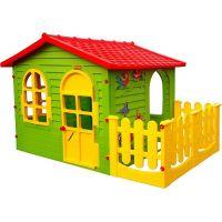 Mochtoys Záhradný domček s plotom