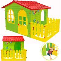 Mochtoys Záhradný domček s plotom 5