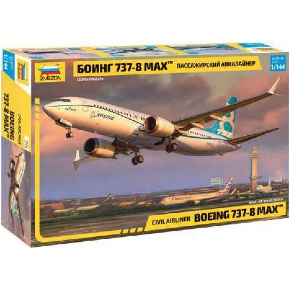 Zvezda Model Kit lietadlo 7026 Boeing 737- 8 MAX 1: 144