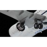Zvezda Model Kit lietadlo 7026 Boeing 737- 8 MAX 1: 144 4