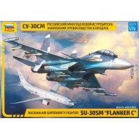 Zvezda Model Kit lietadlo 7314 Sukhoi SU-30 SM Flanker C 1:72