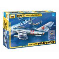 Zvezda Model Kit lietadlo 7318 MIG-17 Fresco 1:72