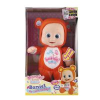 Moje prvé bábätko Bouncin Babies usínáček oranžová 2