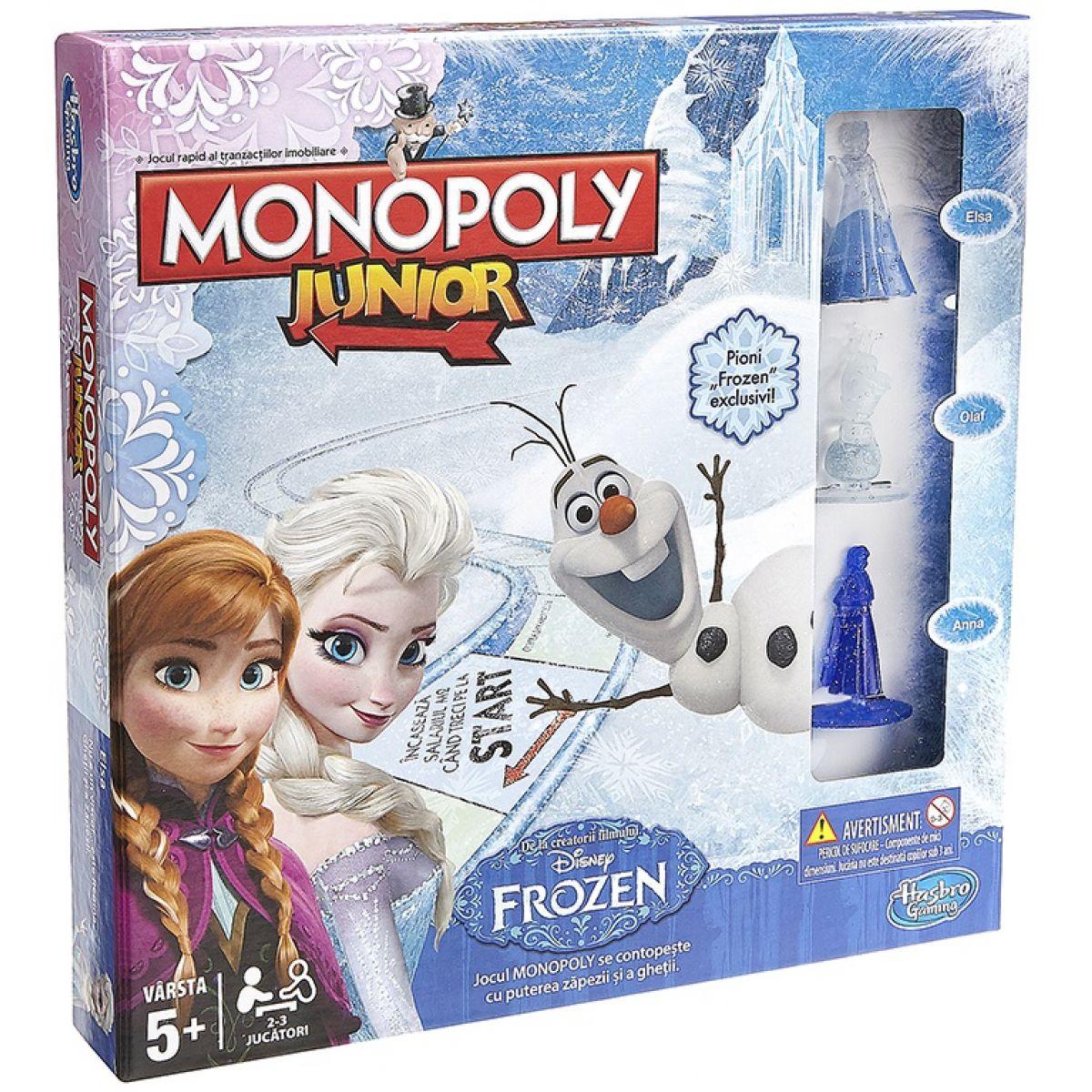 Hasbro Monopoly Junior: Frozen