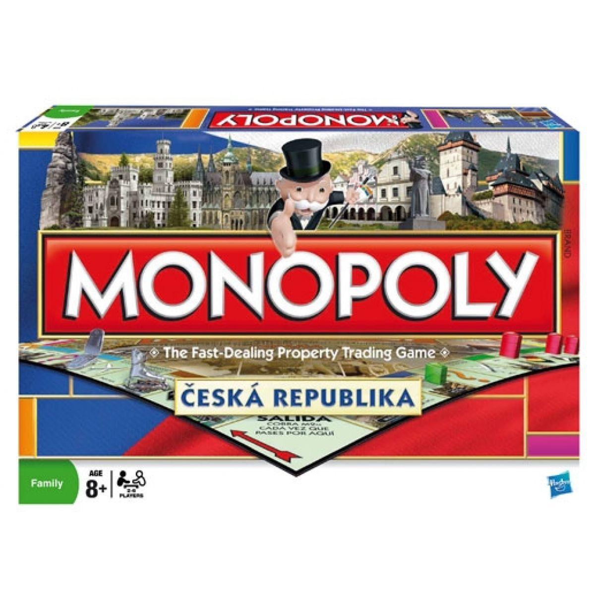 Hasbro Monopoly Národní edice: Česká republika