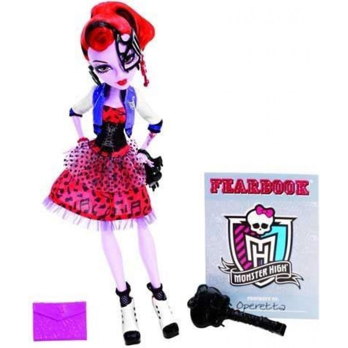 Monster High X4648 Příšerky - Operetta