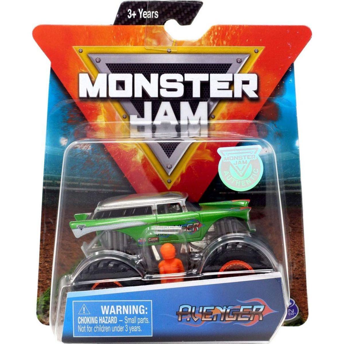Monster Jam Zberateľská Die-Cast autá 1:64 Avenger