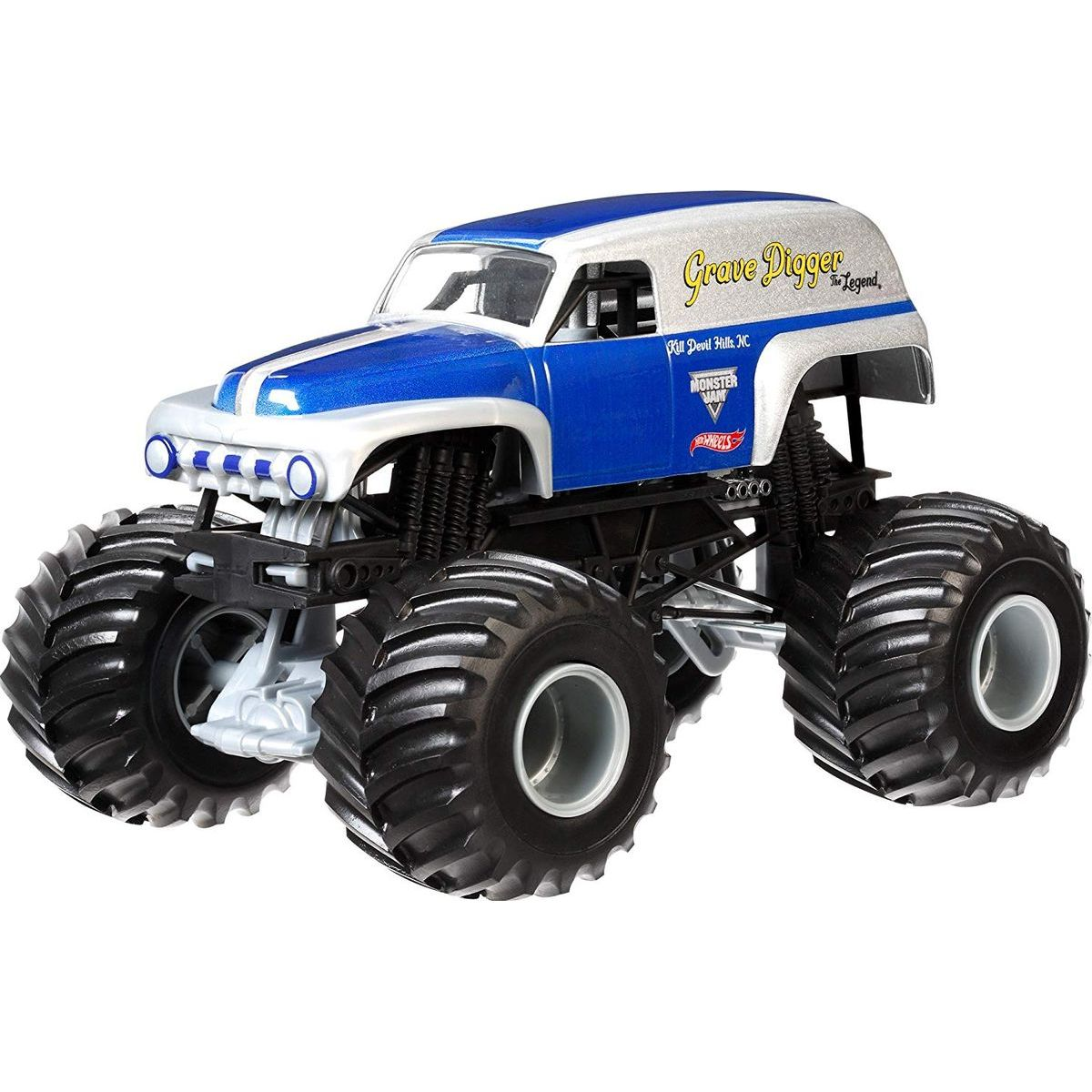 Monster Jam Sběratelská Die-Cast auta 1:64 Grave Digger the legend
