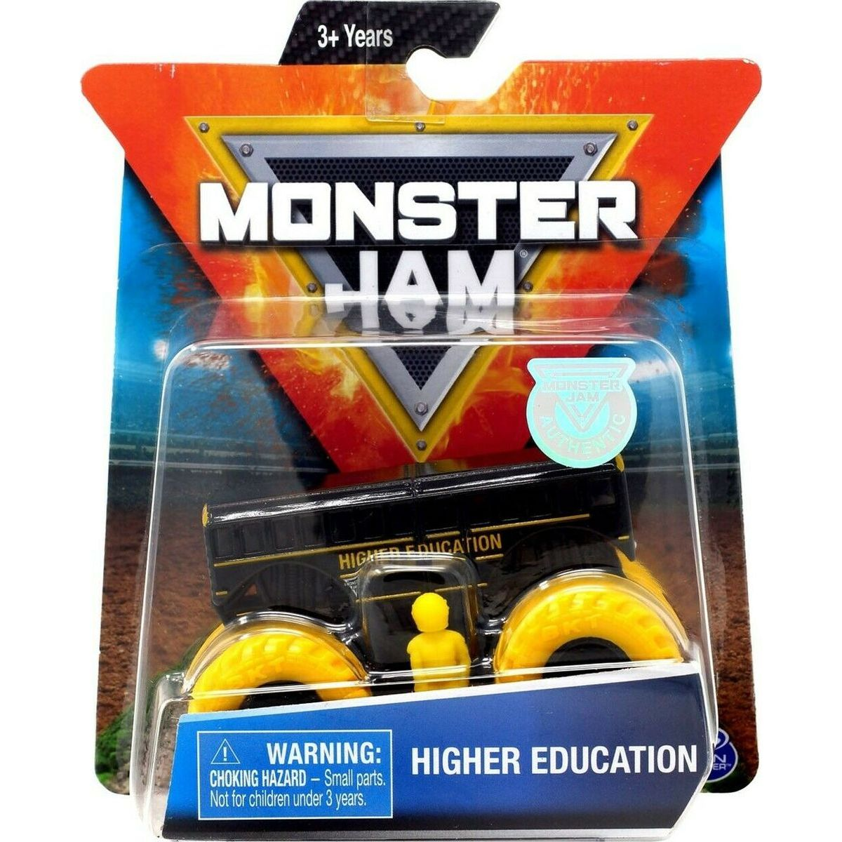 Monster Jam Zberateľská Die-Cast autá 1:64 Higher Education
