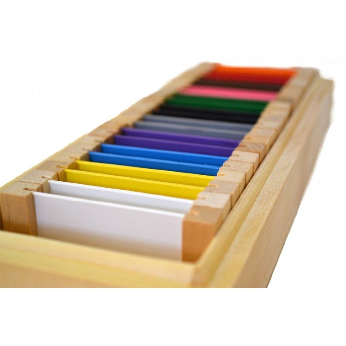 Montessori Farebné doštičky 2 rozšírená sada