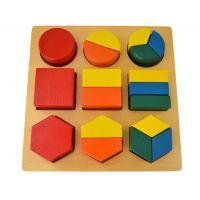 Montessori Geometrická tácka