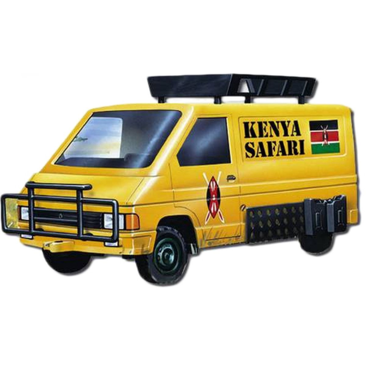 Monti 04 Kenya Safari Renault Trafic 1:35