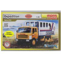 Stavebnica Monti 12 Expedícia Tatra 815 v krabici 22x15x6cm 1:48 2