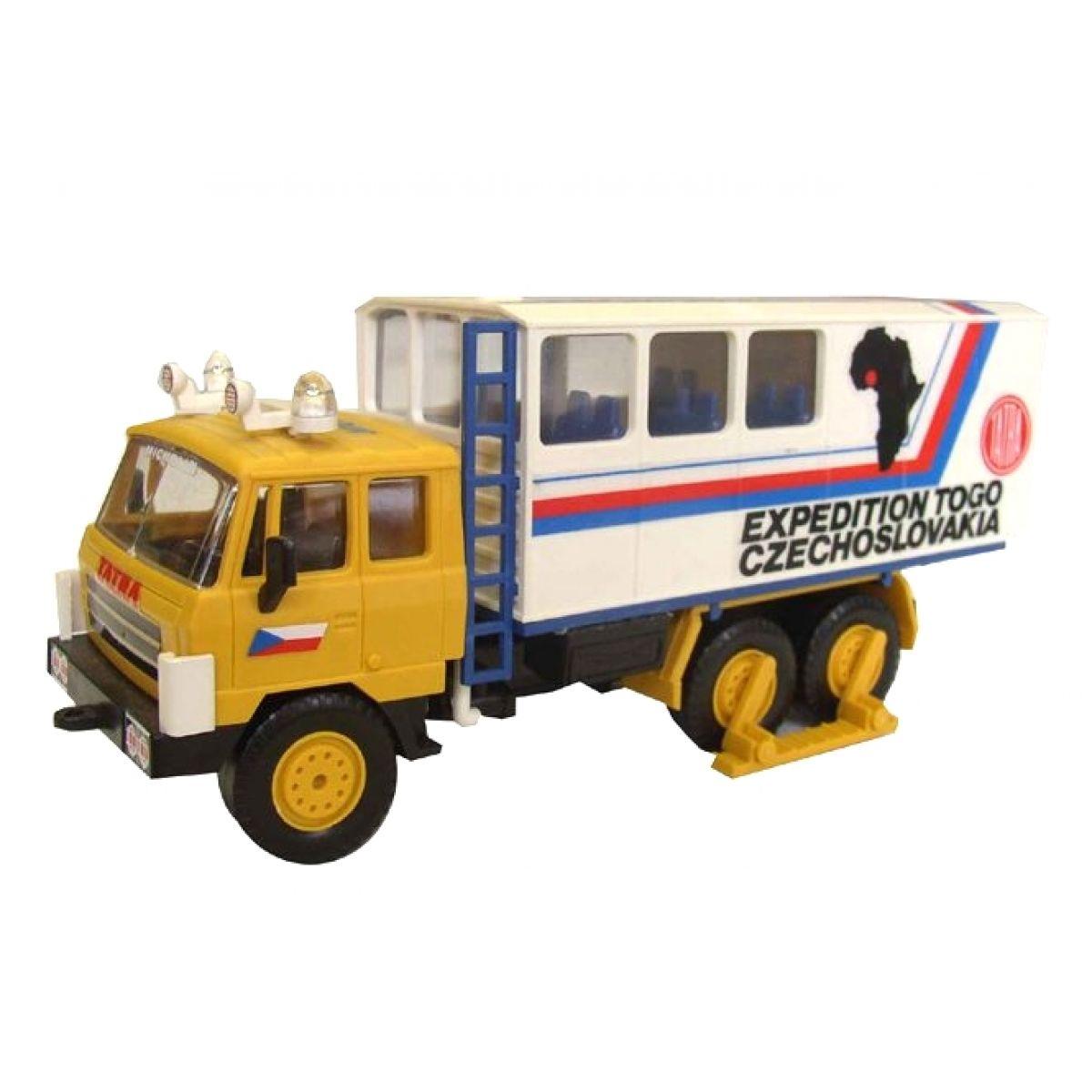 Stavebnica Monti 12 Expedícia Tatra 815 v krabici 22x15x6cm 1:48