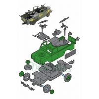 Monti System 29 Land Rover Commando 1:35 2