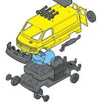 Monti System 37 Renault Trafic ZOO Safari 2