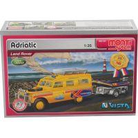 Monti 63 Land Rover vlek s loďkou člunem 1:35 2