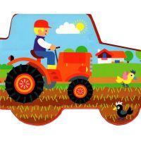 Motoknížka Traktory leporelo 4