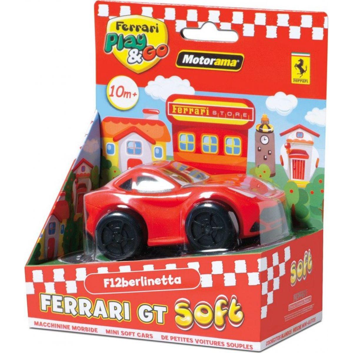 Motorama Auto Ferrari GT soft Červená