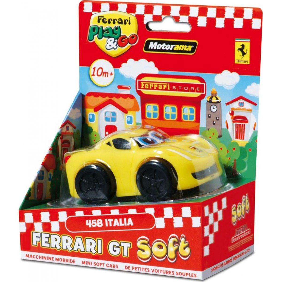 Motorama Auto Ferrari GT soft Žlutá
