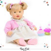 Nines Žmurkajúca bábika s vláskami Claudia