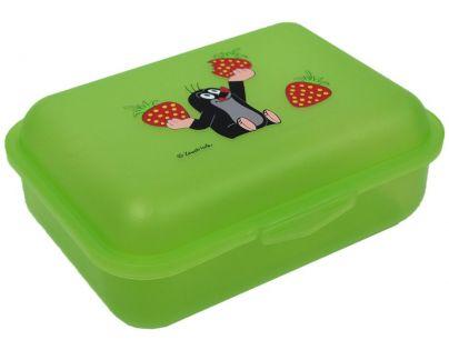 Moravská ústředna Desiatový box Krtko jahody, zelený
