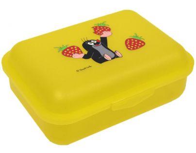 Krtek jahody Žlutý svačinový box