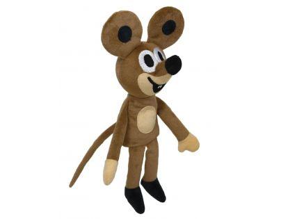 Plyšová Myška 23cm maňásek plyšové hračky