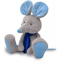 MÚ BRNO Myška Alfi šedo modrá 65cm