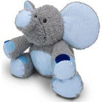 MÚ Brno Slon Valda šedo modrý 45cm