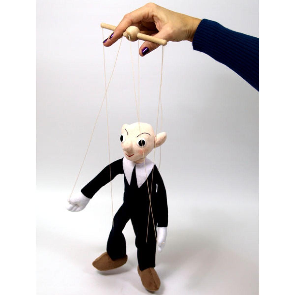 MÚ Brno Spejbl 30 cm textilné bábka