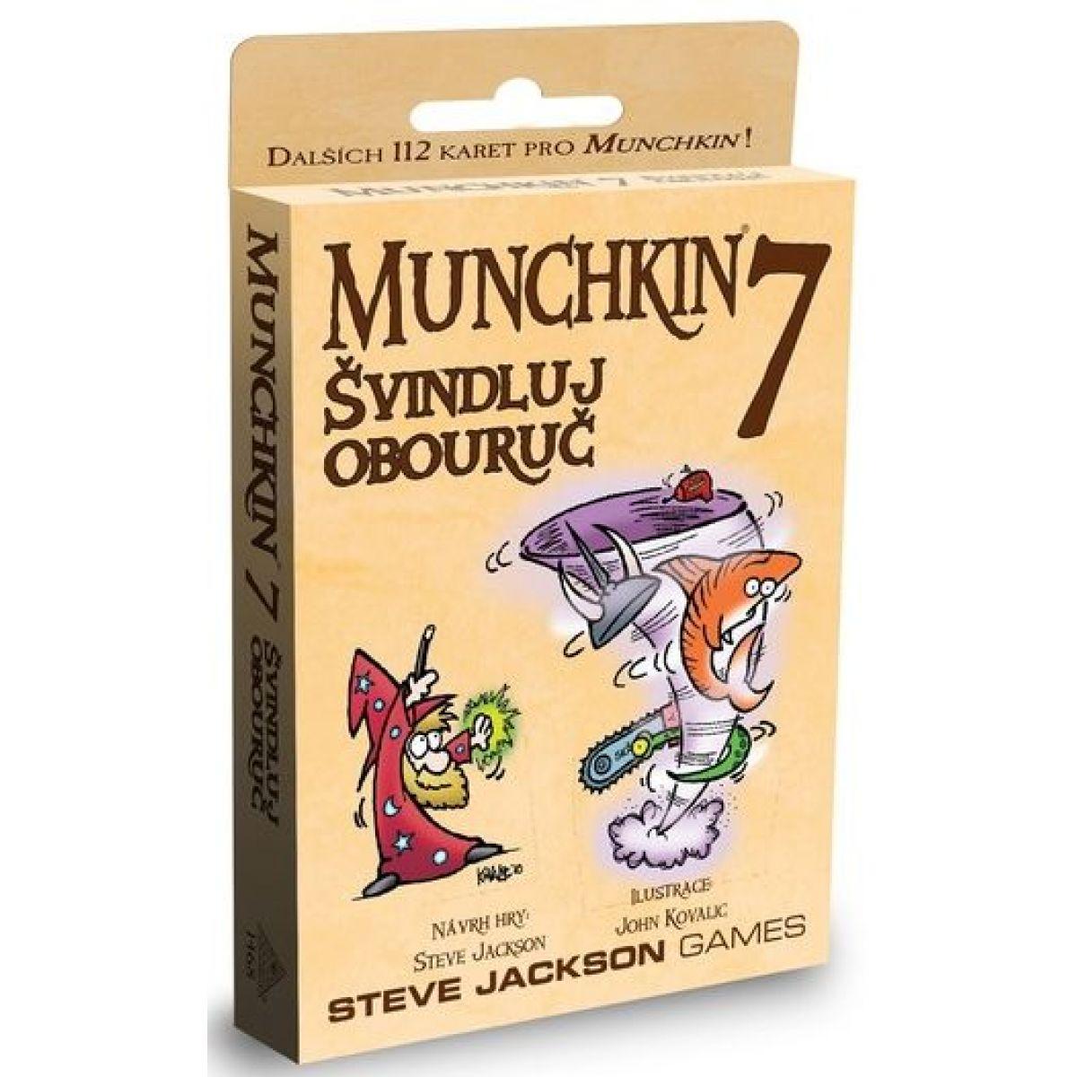 Steve Jackson Games Munchkin 7: Švindluj obouruč