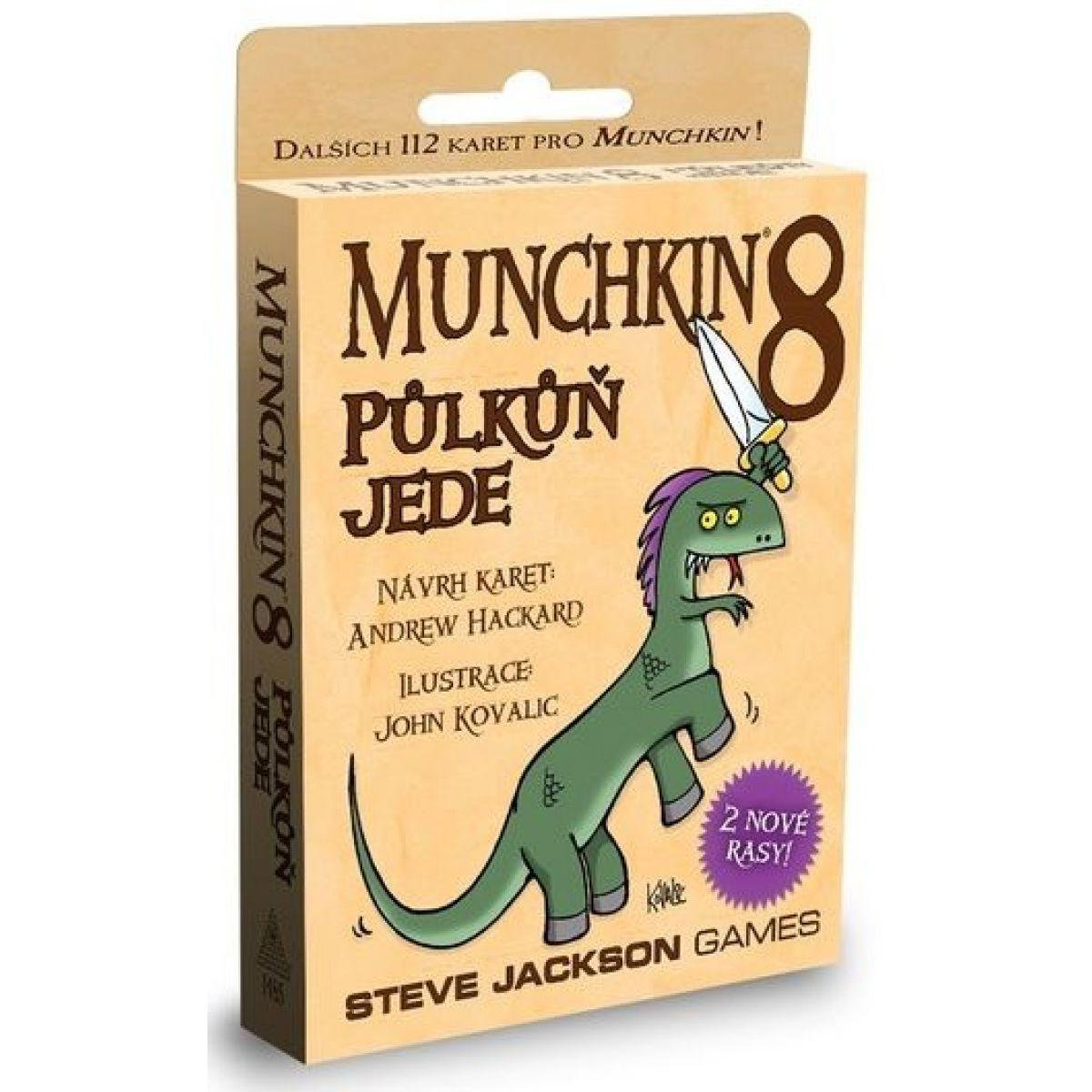 Steve Jackson Games Munchkin 8: Půlkůň jede