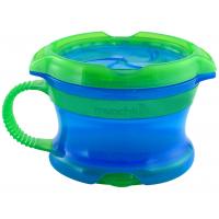 Munchkin desiatové hrnček Click Lock - Modro-zelená
