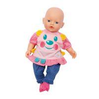 My little Baby Born Roztomilé oblečení Modré kalhoty s botičkami 2