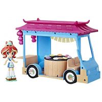My Little Pony Eg Minis Sunset Shimmer Sushi Truck