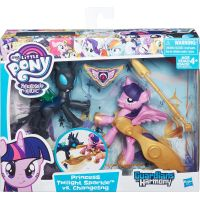 My Little Pony Guardians of harmony 2 poníci Princess Twilight Sparkle vs Changeling 3