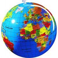 Nafukovací globus Caly Zeměkoule 30 cm