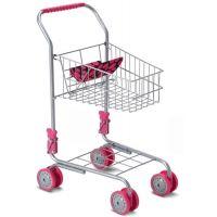 Nákupní vozík kovový - Šedá